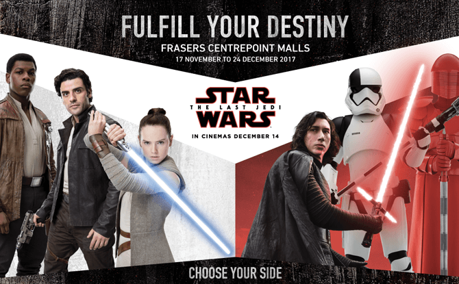 Frasers Centrepoint Malls Star Wars 3