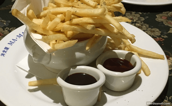 Fries with Chocolate