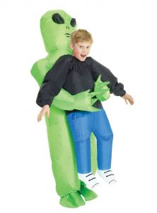 Funidelia inflatable alien costume