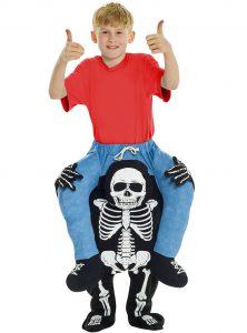 Funidelia kids piggyback skeleton costume
