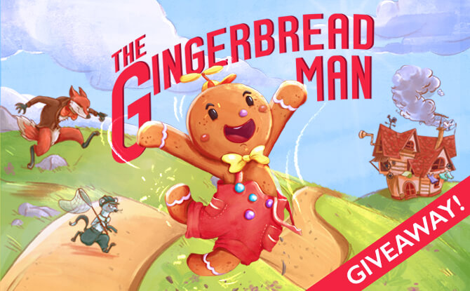 The Gingerbread Man Giveaway
