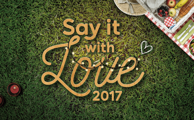 Gardens by the Bay Say it with Love
