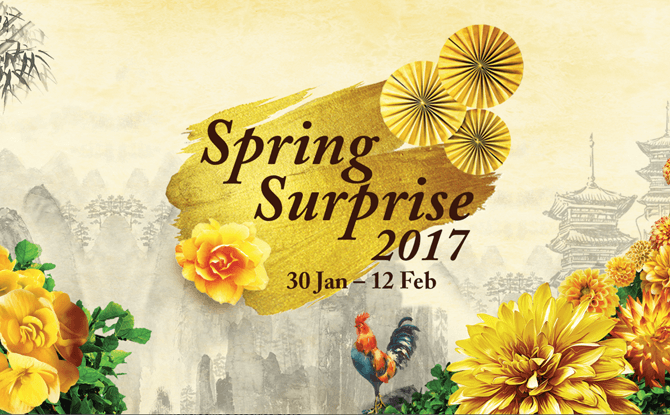 Gardens by the Bay Spring Surprise