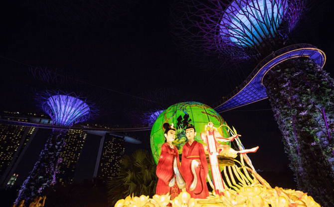 Gardens by the Bay Mid-Autumn Festival 2016