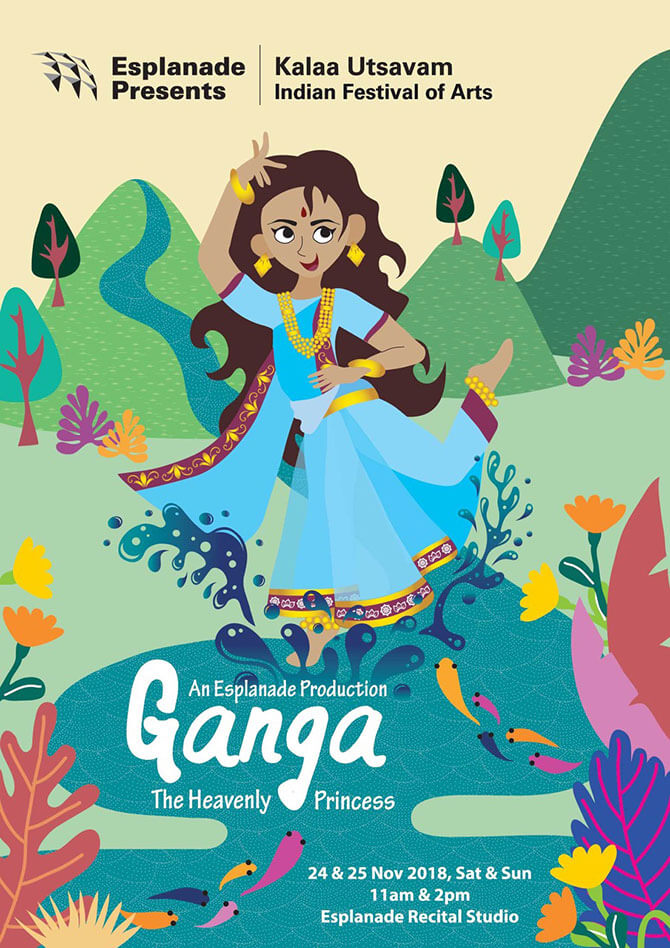 Esplanade's Kalaa Utsavam: Ganga - The Heavenly Princess