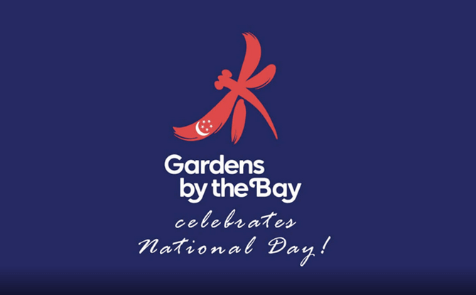 Gardens by the Bay Celebrates National Day