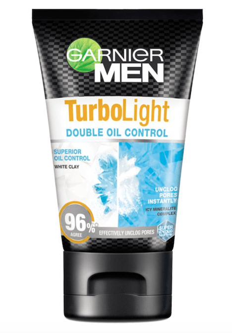 Garnier Men Turbo Light Double Oil Control Foam