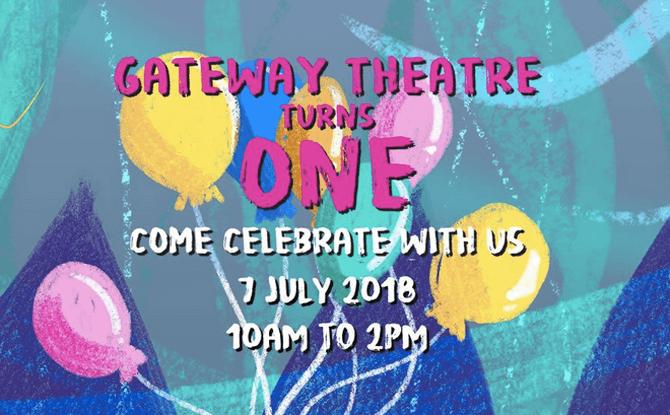 Gateway Theatre Turns One 1
