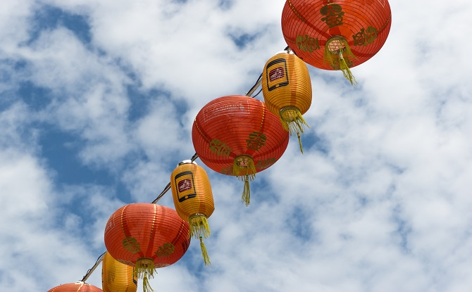 Generic Chinese lanterns 4