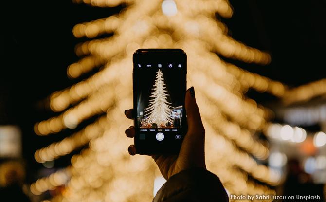Generic Christmas tree lights photo 1