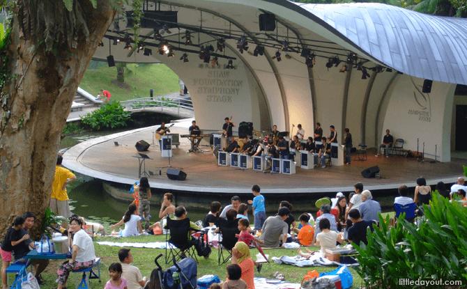 Generic Shaw Foundation Symphony Stage