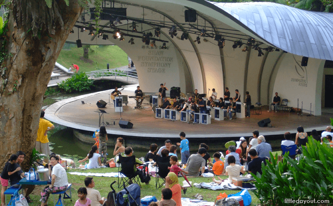 Generic Shaw Foundation Symphony Stage
