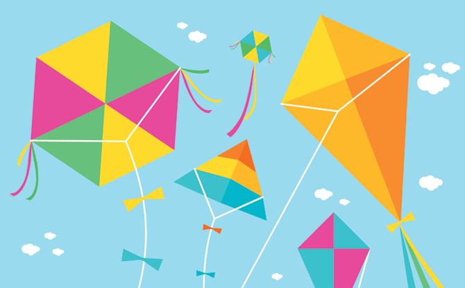 Generic kites