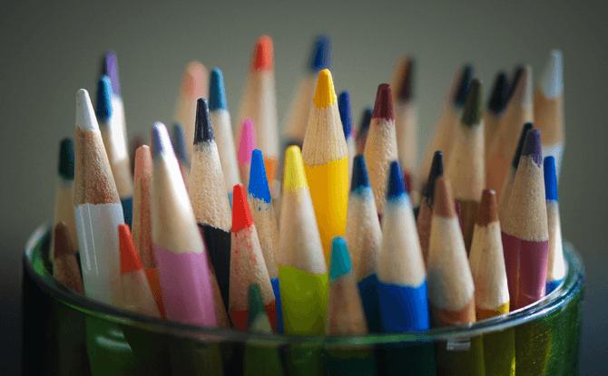 Generic colour pencils art - School Holiday Camps and Programmes November - December 2017