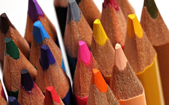 Generic colour pencils tips 3