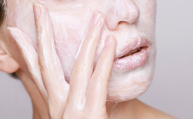 Generic face wash cream Image by Nika Akin from
