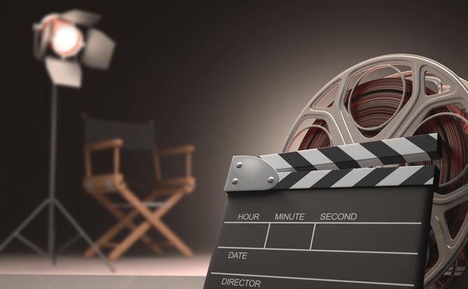 Generic film movie reel 4