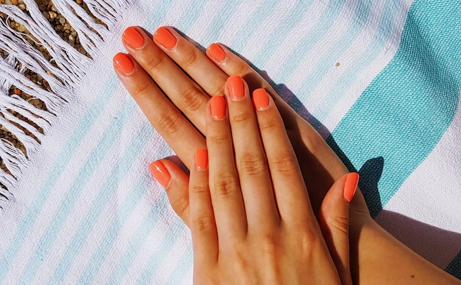 Best Hand Creams for Over-sanitised Hands: Generic hands manicure