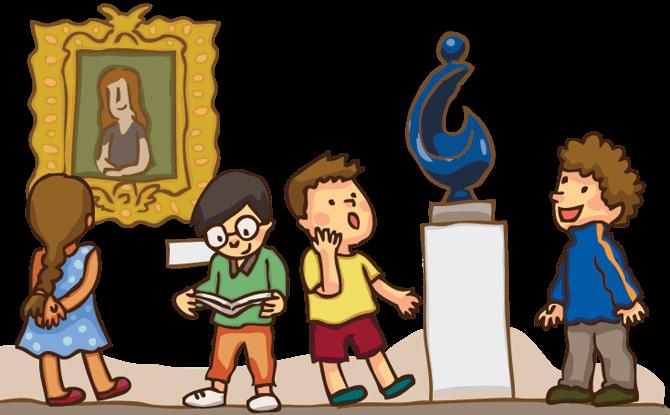 Generic kids museum art
