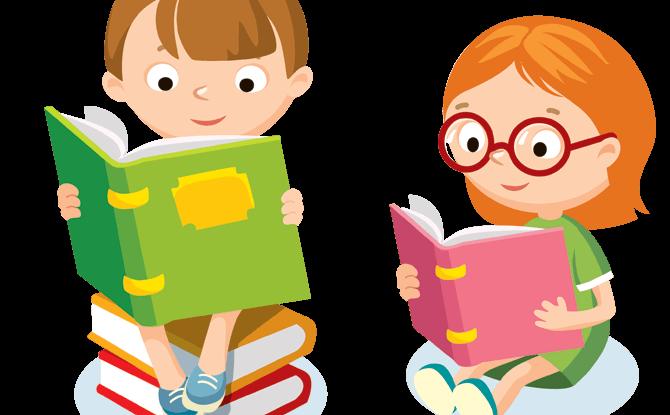 Generic kids reading