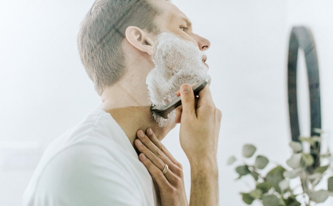 Generic man shaving Photo by Supply on Unsplash