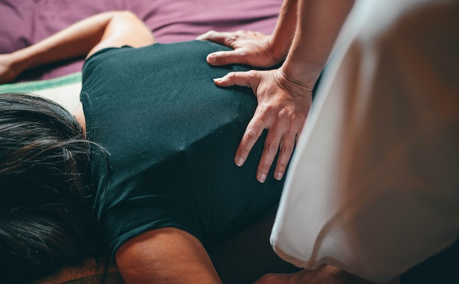 Generic massage Photo by Conscious Design on Unsplash