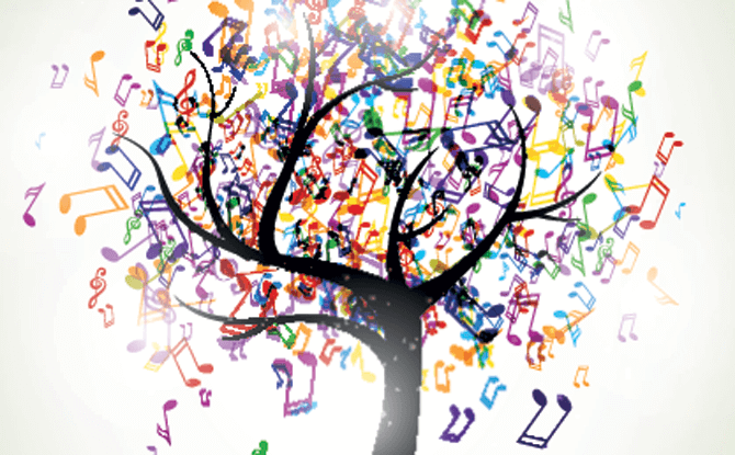 Generic music tree