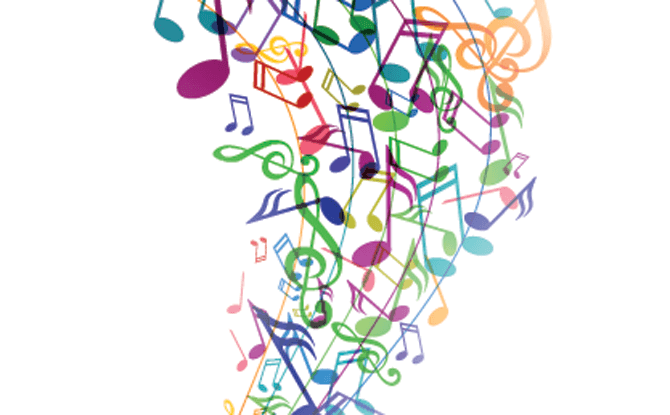 Generic musical notes