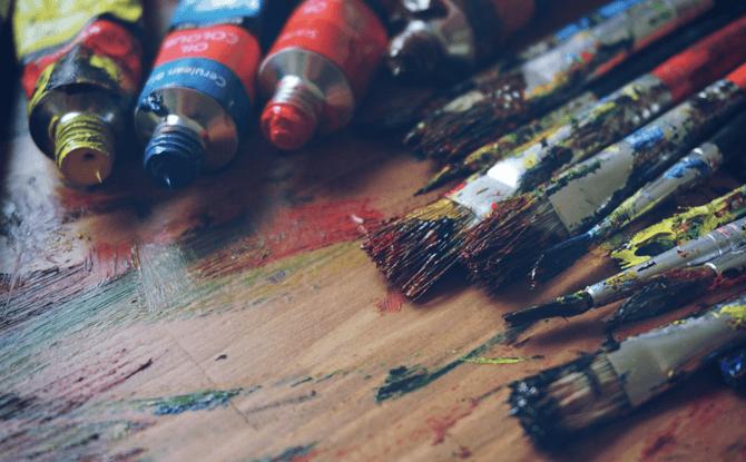 Generic paint brushes art