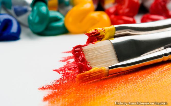 Generic paintbrushes art 1