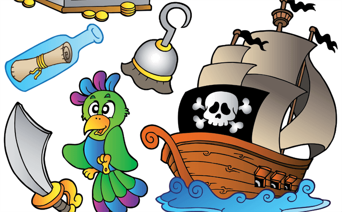 Read & Bond: Pirate Party