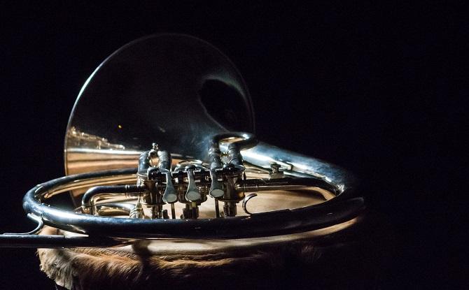 Generic silver wind instrument 8
