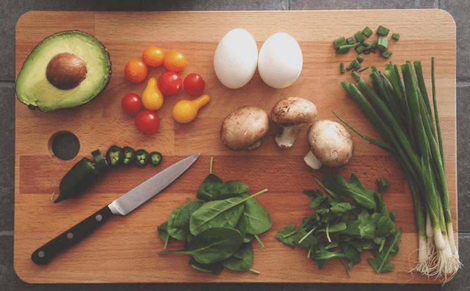Generic vegetables cooking