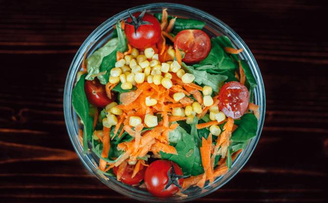 Generic vegetables salad