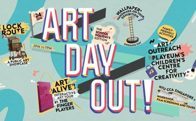 Art Day Out! X The School Holidays Edition