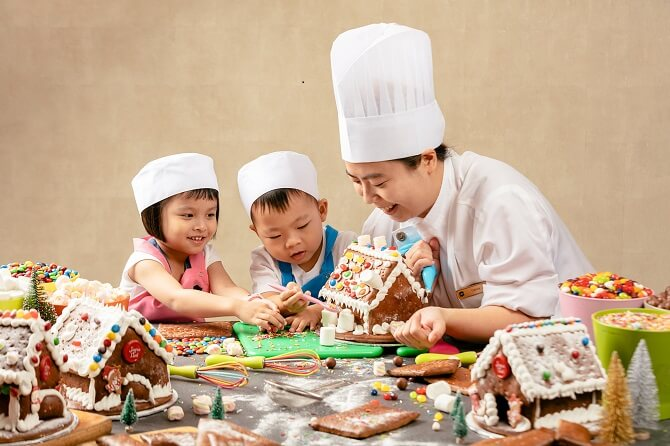 Gingerbread House Workshop Shangri La Hotel Singapore