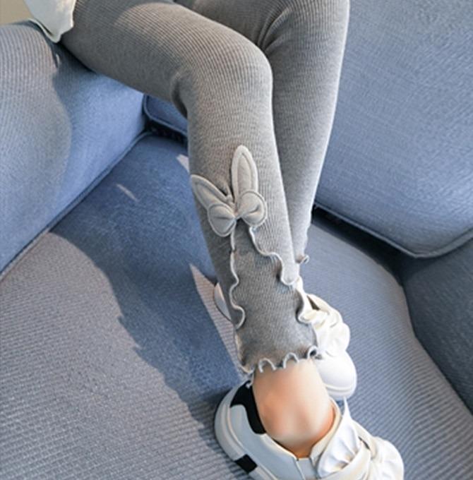 Girls Bunny Ear Leggings