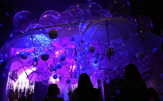 Glowing Ocean Imaginarium 1