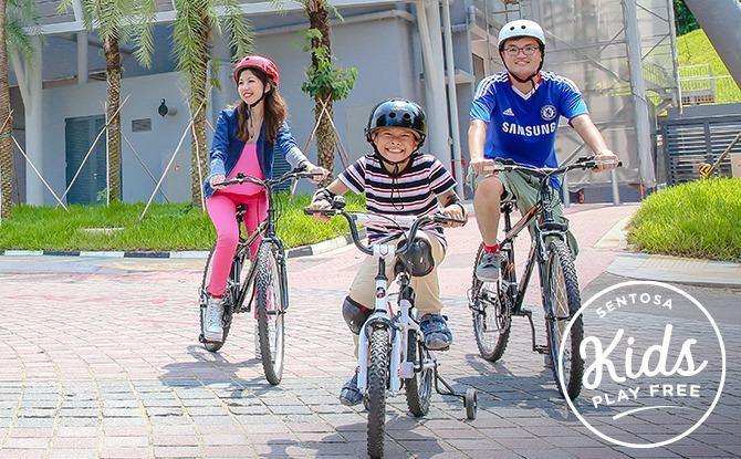 Gogreen Segway® Eco Adventure Sentosa Cycling Bike Rental