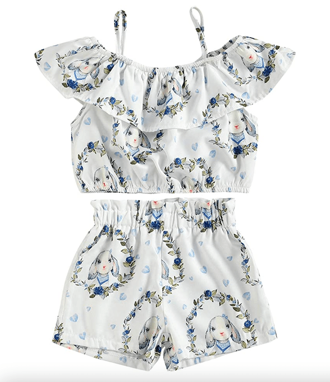 Easter Toddler Girl Outfit