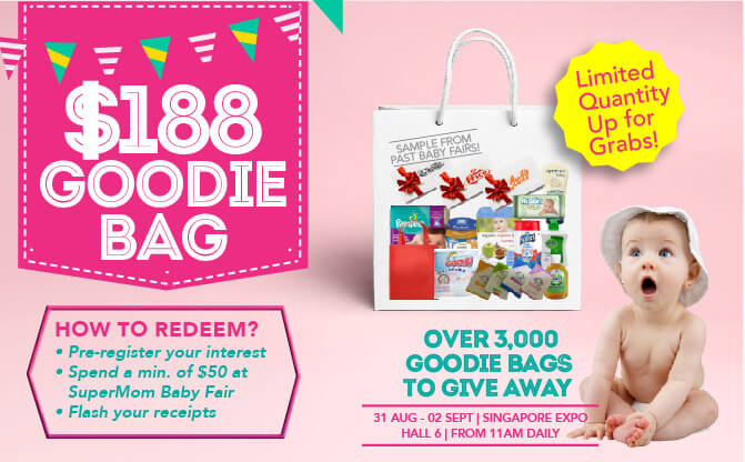 SuperMom - End August 2018: Goodie Bag