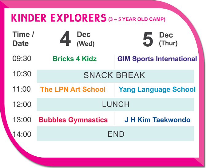 Grand Camp Kinder Explorers 4 5Dec