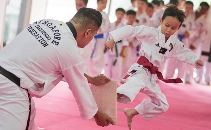 Grandstand JH Kim Taekwondo