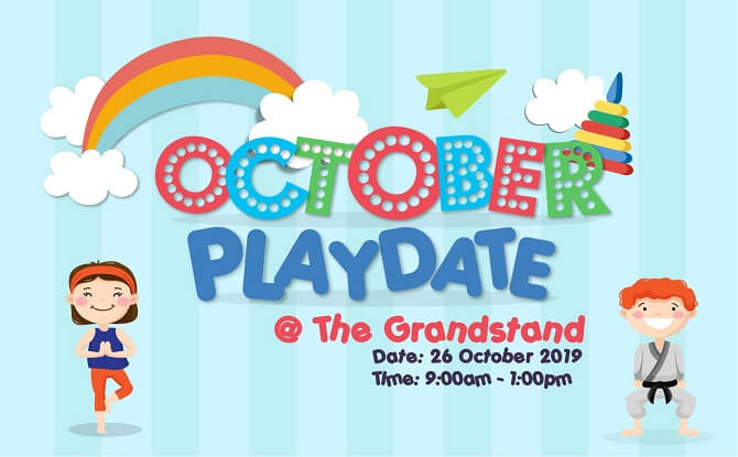 The Grandstand's October Playdate