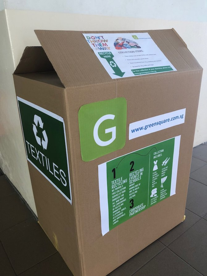 Greensquare recycling box