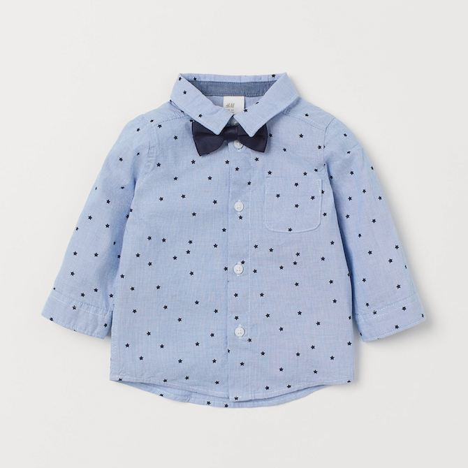 H&M Boys Shirt and Bow Tie