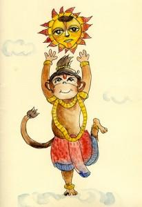 Kalaa Utsavam's Hanuman