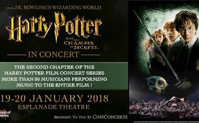 Harry Potter Chamber of Secrets in Concert 1