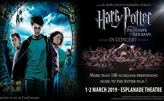 Harry Potter Prisoner of Azkaban Concert 1