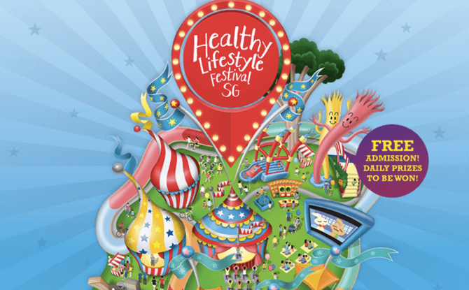 Healthy Lifestyle Festival SG 1